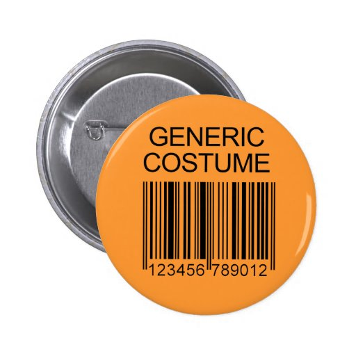 GENERIC COSTUME 2 INCH ROUND BUTTON
