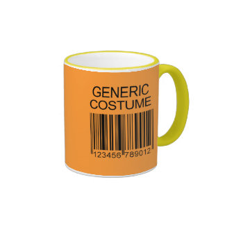 GENERIC COSTUME RINGER COFFEE MUG