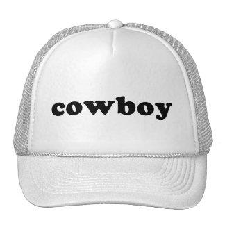 Generic Cowboy T shirts Trucker Hat