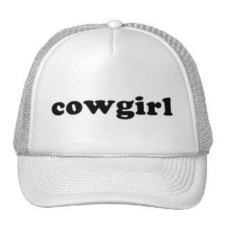 Generic COWGIRL T shirt Trucker Hat