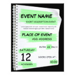 Generic event flyer