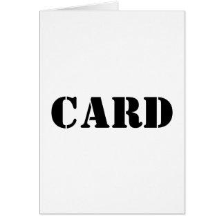 Generic Greeting Card