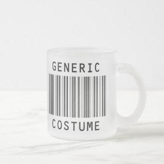 Generic Halloween Costume 10 Oz Frosted Glass Coffee Mug