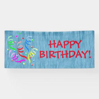 Generic Happy Birthday Banner