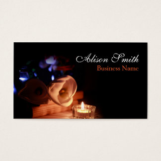 Generic health/spa/massage business card