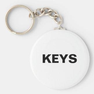 Generic Item Label Keychain