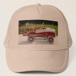 Generic Metal Pedal Car Firetruck Car Trucker Hat