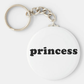 Generic PRINCESS T-shirts Basic Round Button Keychain