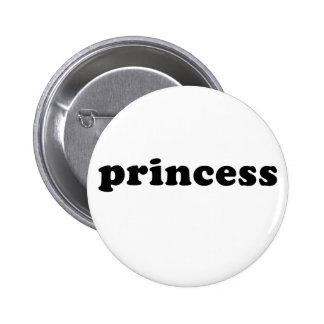 Generic PRINCESS T-shirts Pinback Button