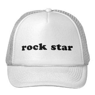 Generic ROCK STAR T shirt Trucker Hat