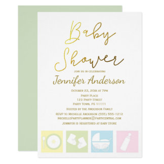 Generic Uni Boy Or Baby Shower Card