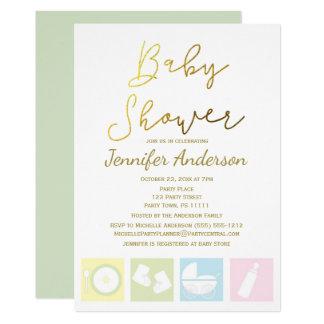 Generic Unisex Boy Or Girl Baby Shower Card
