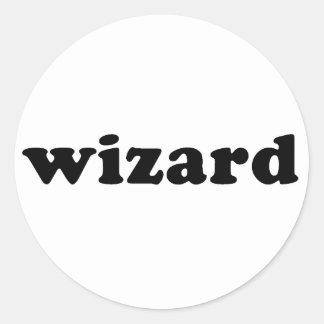 Generic WIZARD T shirt Classic Round Sticker