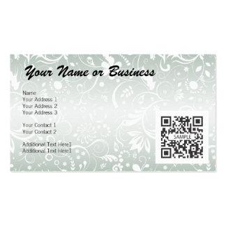 Genérico floral de la plantilla de la tarjeta de v
