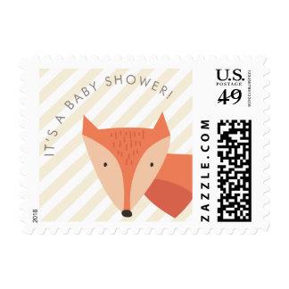 Género neutral del Fox es una fiesta de bienvenida Timbres Postales