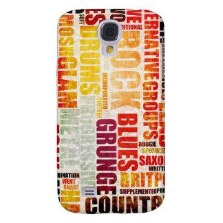 Géneros y tipos de la música popular en Grunge Samsung Galaxy S4 Cover