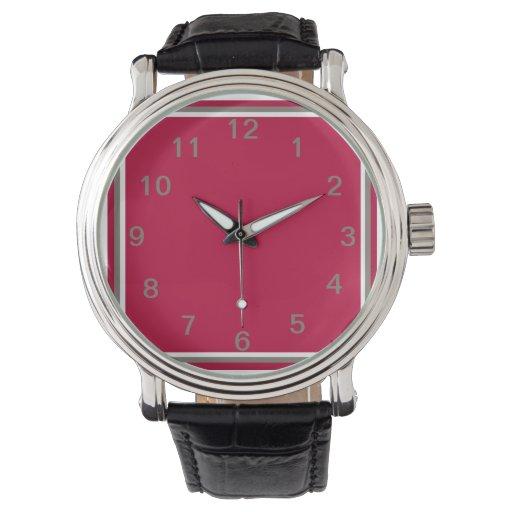 Generosidad carmesí relojes de mano
