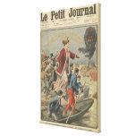 Generosidad de la ciudad de París y de Francia Impresión De Lienzo