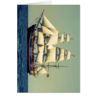 Generosidad del HMS Tarjeta De Felicitación
