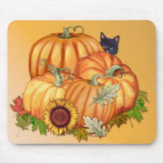 Generosidad del otoño tapete de ratones