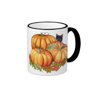 Generosidad del otoño taza de dos colores
