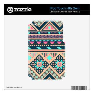 Generosidad inmediata especial sincera iPod touch 4G skin