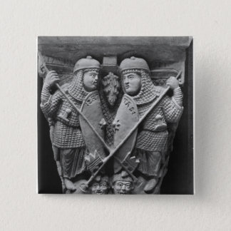Generosity and Charity piercing two Vices Button