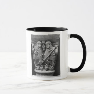 Generosity and Charity piercing two Vices Mug