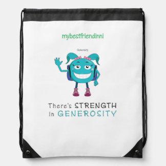 Generosity Drawstring Backpack