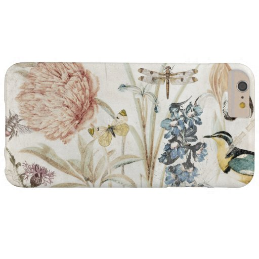 GENEROSITY OF NATURE VINTAGE BOTANICAL BARELY THERE iPhone 6 PLUS CASE