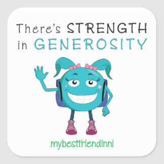 Generosity Sticker