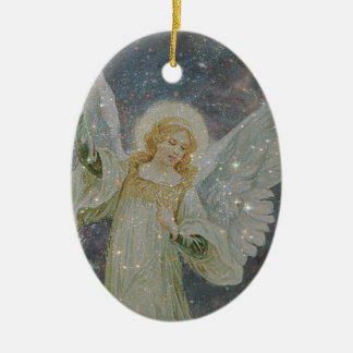 Generous -  Guardian Angel of Generosity Ceramic Ornament