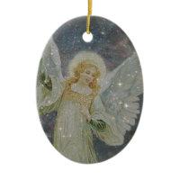 Generous -  Guardian Angel of Generosity Christmas Tree Ornaments
