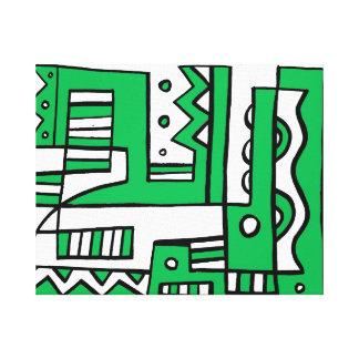 Generous Quality Grin Practical Canvas Print