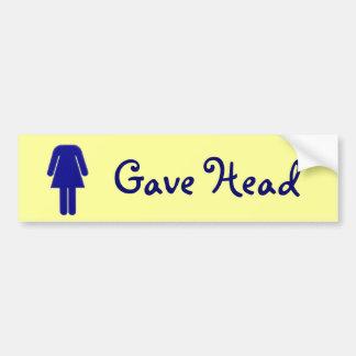 Generousity Bumper Sticker