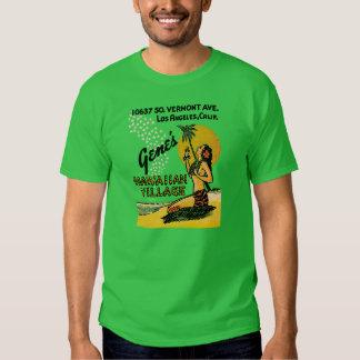 Gene's Hawaiian Village (version 2) T Shirt