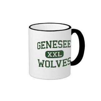 Genesee - lobos - High School secundaria - Genesee Taza A Dos Colores