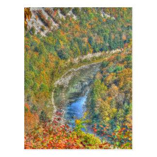 Genesee River Bend Postcard