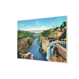 Genesee River Gorge, Park Avenue Bridge Canvas Print