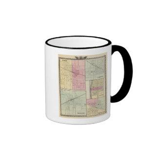 Geneseo, Kewanee, Cambridge, Fulton and Morrison Ringer Mug