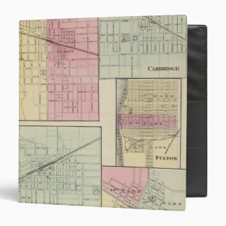 Geneseo, Kewanee, Cambridge, Fulton and Morrison Vinyl Binder