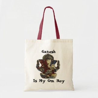genesh, Ganesh, Is My Om Boy Tote Bag
