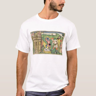 Genesis 11 1-9 Building The Tower of Babel, from t T-Shirt