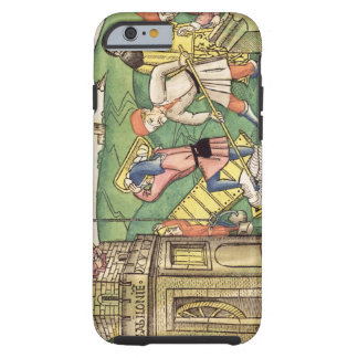 Genesis 11 1-9 Building The Tower of Babel, from t Tough iPhone 6 Case