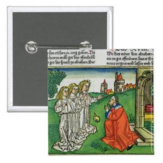 Génesis 18 2 Abraham y los tres ángeles, del th Pin Cuadrado