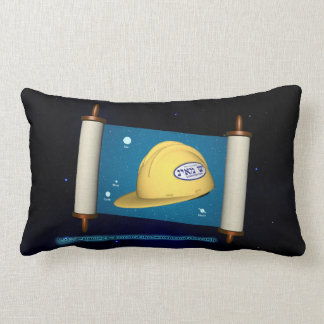 Genesis 1:1 - Construction Pillow