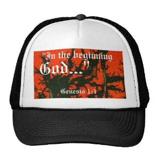 Genesis 1:1 Hat