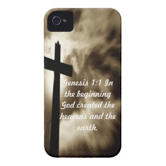 Genesis 1:1 iPhone 4/4 S Cases iPhone 4 Case-Mate Case