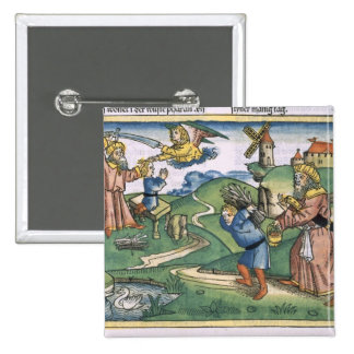 Génesis 21 1-14 Abraham que ofrecen para arriba de Pin Cuadrado