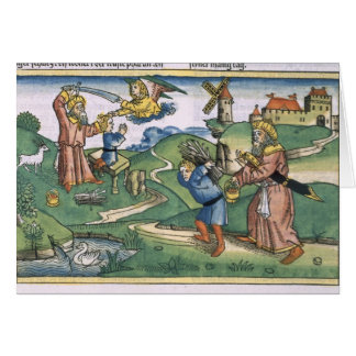 Genesis 21 1-14 Abraham's offering up of Isaac, fr Card